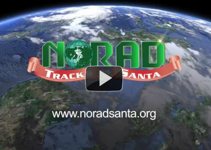 Watch out Santa! NORAD is tracking you!