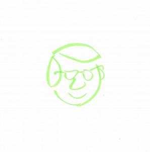 drawing of Ben Rimes