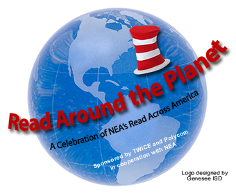 Read Around the Planet Makes Me Happy!