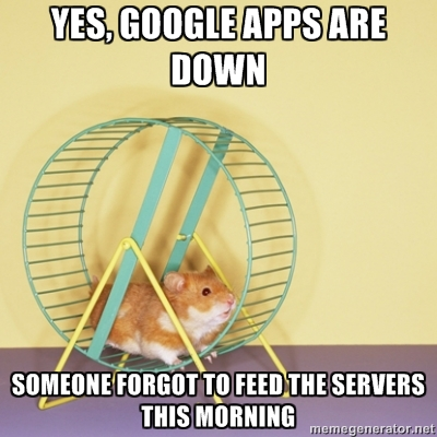 Are You Sure Google Apps Are Down?